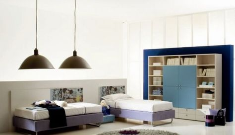 13 Charming Kids Bedrooms – Letti Singoli Collection from Di Liddo .
