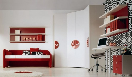 13 Cool Kids Bedrooms – Letti Singoli Collection from Di Liddo .