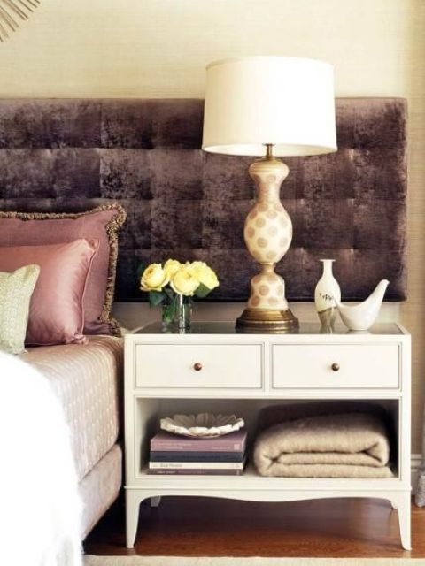 55 Cool Non-Conventional Bedside Tables | Stylish bedroom, Modern .