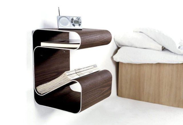 55 Awesome Non-Conventional Bedside Tables : 55 Awesome Non .
