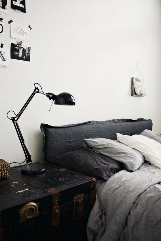 55 Cool Non-Conventional Bedside Tables | Bedroom interior .