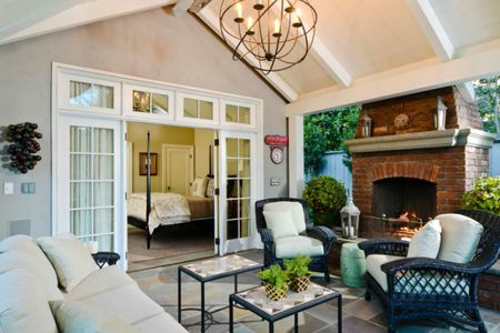49 Outdoor Living Room Design Ide