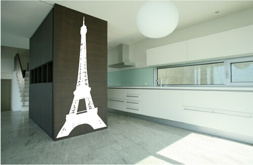 Cool-Paris-Themed-Room-Ideas-and-Items-with-white-black-ki… | Flic