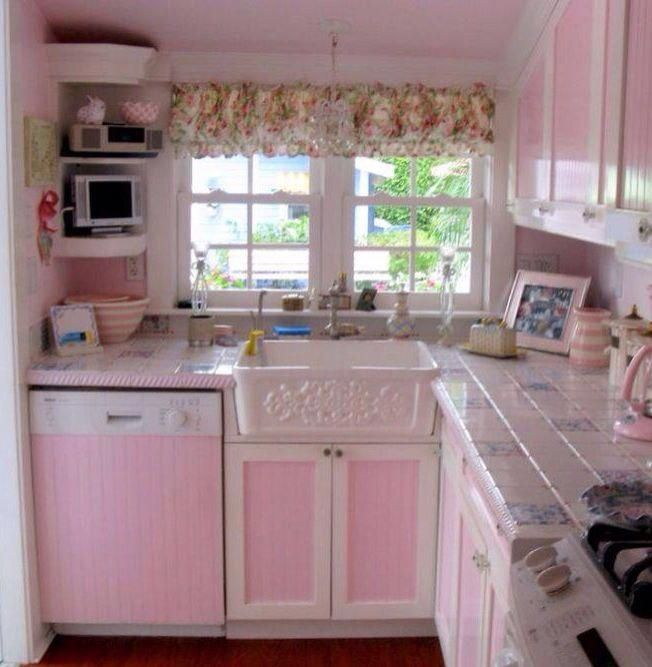 Shabby Chic Kitchen Designs (With images) | Shabby chic kitchen .