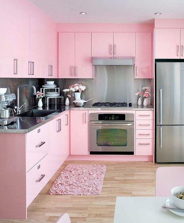 Mod Vintage Life: Pink Kitchens | Pink kitchen, Retro home decor .
