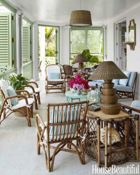 34 Cool Rattan Furniture Pieces For Indoors And Outdoors - DigsDi