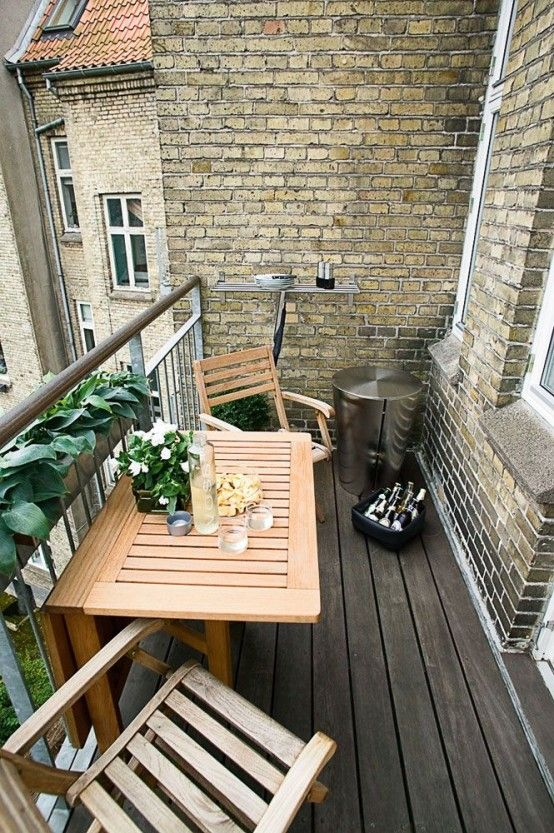 The balcony is an extension of the home, and it is an area where .