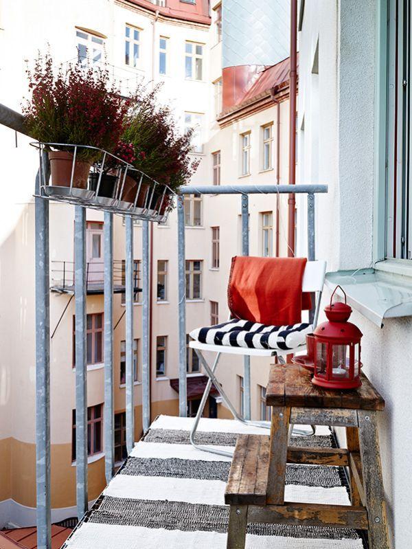 55 Super cool and breezy small balcony design ideas | Small .