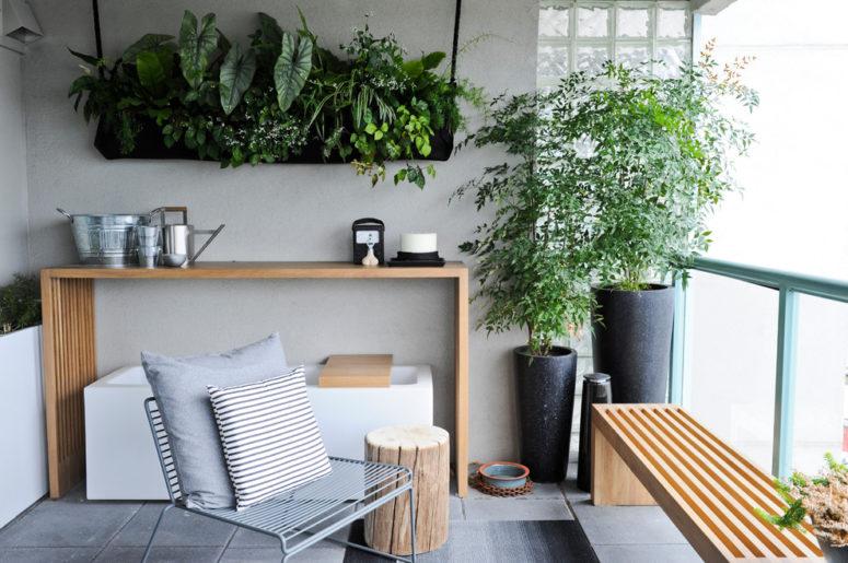 67 Cool Small Balcony Design Ideas - DigsDi