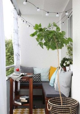55 Super cool and breezy small balcony design ideas | Apartment .