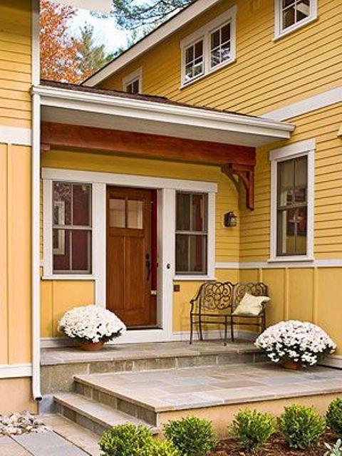 47 Cool Small Front Porch Design Ideas - DigsDi