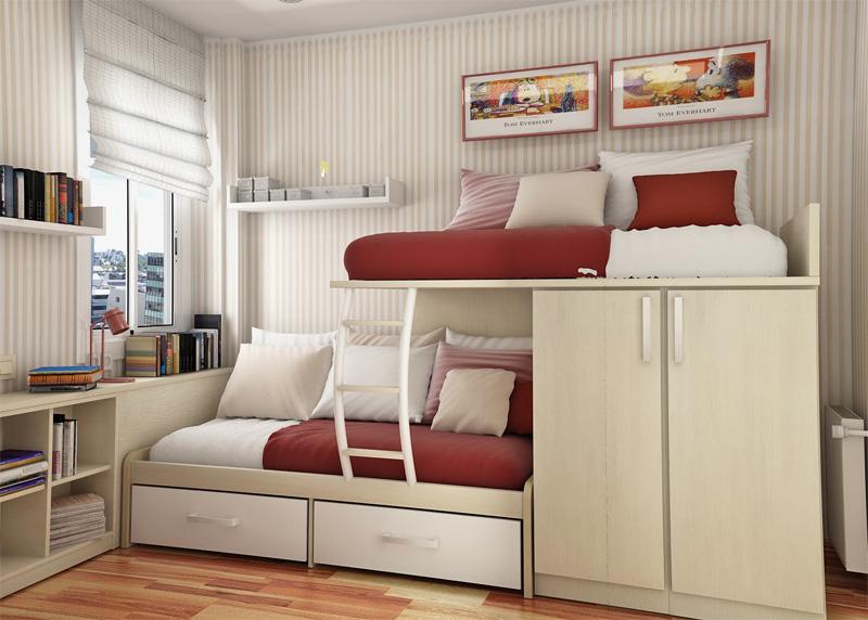 55 Thoughtful Teenage Bedroom Layouts - DigsDi
