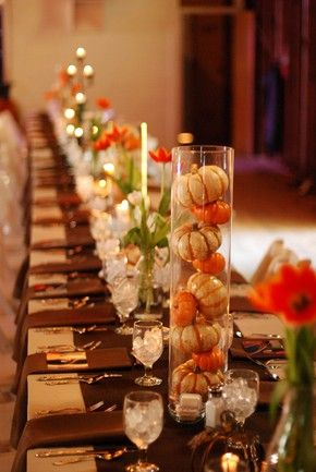 81 Cool Fall Table Decorating Ideas (With images) | Thanksgiving .