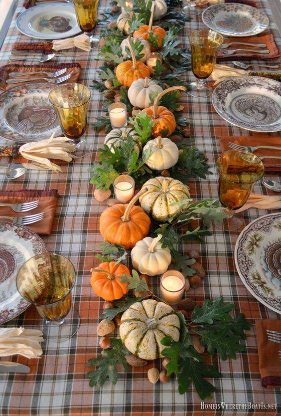 High Style, Low Budget : Inexpensive Thanksgiving Table Ideas .