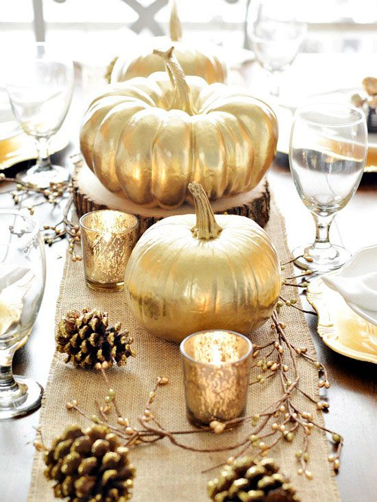42 Beautiful Centerpiece Ideas That Are Perfect for Thanksgiving .