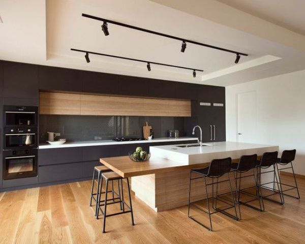 32 Cool And Functional Track Lighting Ideas - DigsDi