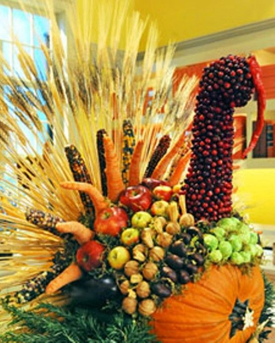 Cool Turkey Decorations For Your Thanksgiving Table (With images .