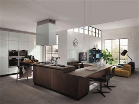 Cool Ultra Modern Kitchen By Scavolini (With images) | Home .