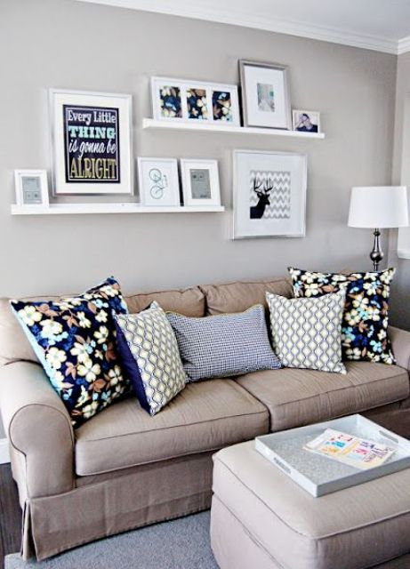 Cool Ways To Use Picture Ledges For Home Decor   Home decor, Home .