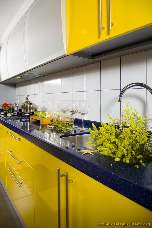 On Style   Today:2020-08-09   Cool Yellow Kitchen   He