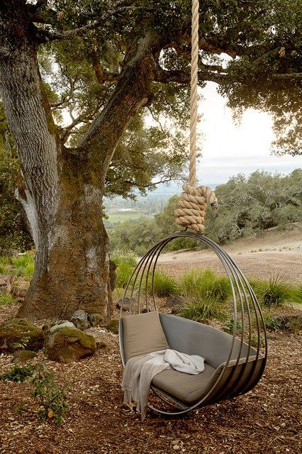 20 Coolest Hammocks Ever | Mediterranean landscaping, Backyard .
