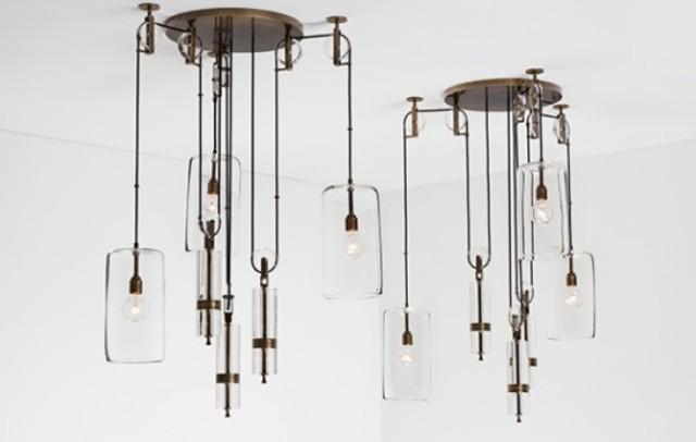 Counterweight Chandelier Inspired By Galileo's Studies - DigsDi