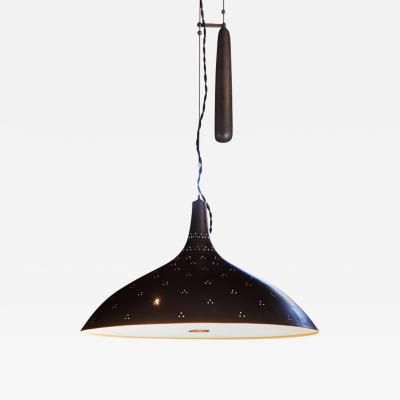 Paavo Tynell Brass Counterweight Chandelier for Taito Oy by Paavo .