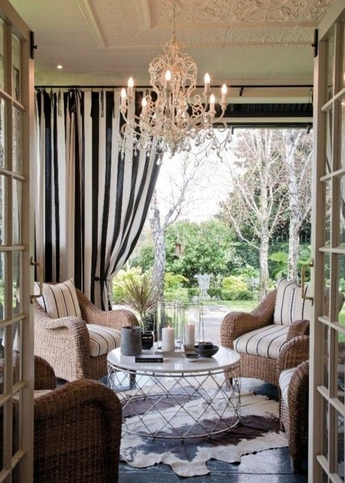 French Country Home | Outdoor rooms, Outdoor living, Outdoor .