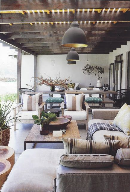 Country Chic | ilovebokkie | Home, Outdoor living space, Outdoor .