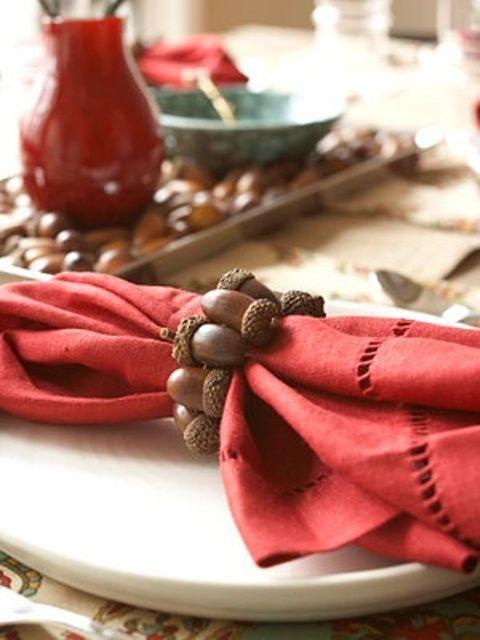 45 Cozy Acorn Décor Ideas For Your Home | Acorn decorations .