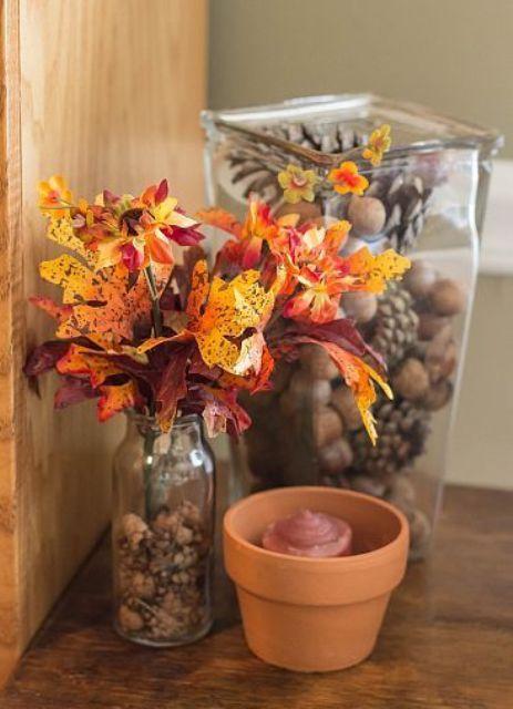 45 Cozy Acorn Décor Ideas For Your Home | Fall halloween decor .