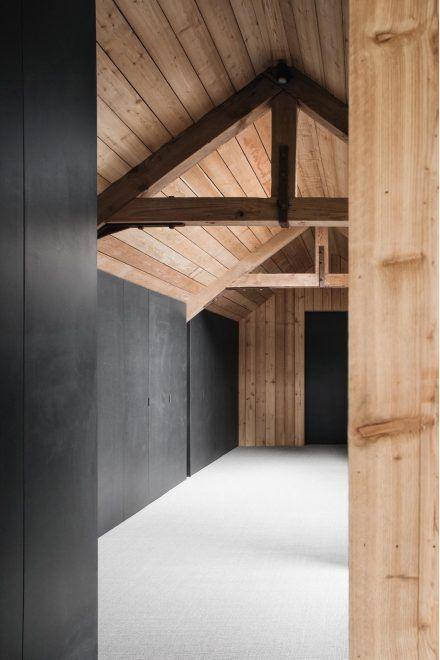 Brick Barns – McLaren.Excell | Barn style house, Modern barn house .