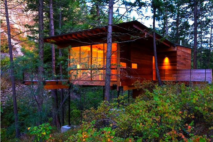6 Cozy Cabins-Flathead Lake Cabin « Inhabitat – Green Design .