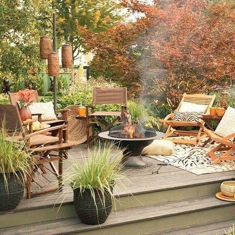 Patio Decor and Its Benefits - Decorifusta in 2020 | Backyard .