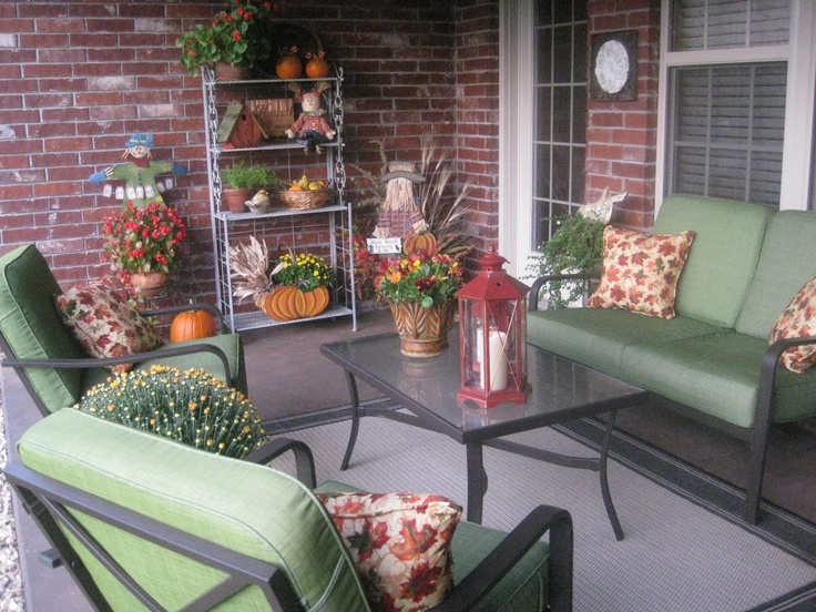Front Porch Decorating Ideas From Around the Country DIY - Baby .