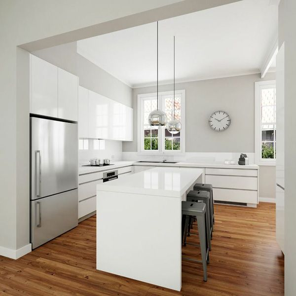 Modern Kitchen + a Touch of Classic Industrial Style | Cuisine .