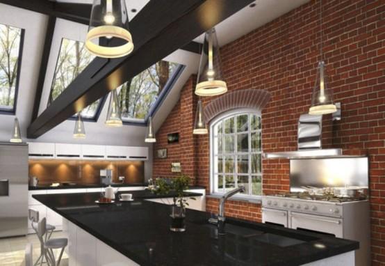 Cozy Minimalist Kitchen With Fall Decor Touches - DigsDi