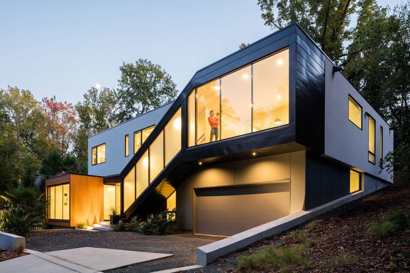 Cozy Modern Family Residences : Modern Family Residen
