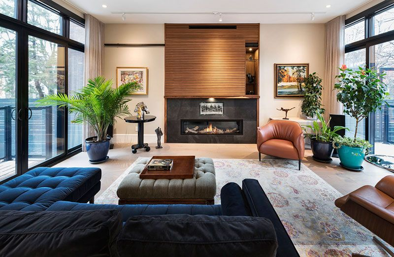 Cozy modern home in Canada 〛 ◾ Фото ◾Идеи◾ Дизайн | Townhouse .