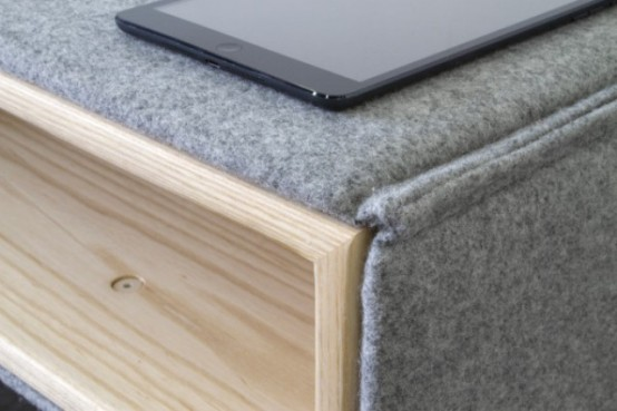 Cozy Parka Furniture Collection Wrapped In Wool - DigsDi