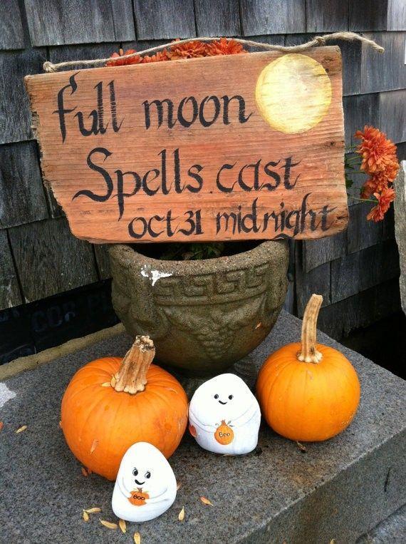 44 Cozy Rustic Halloween Decor Ideas | Rustic halloween decor .