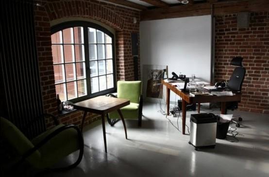 Cozy, Stylish And Homey Office Design - DigsDi