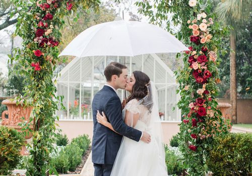 A Winter Wedding at Home in Columbia, South Caroli