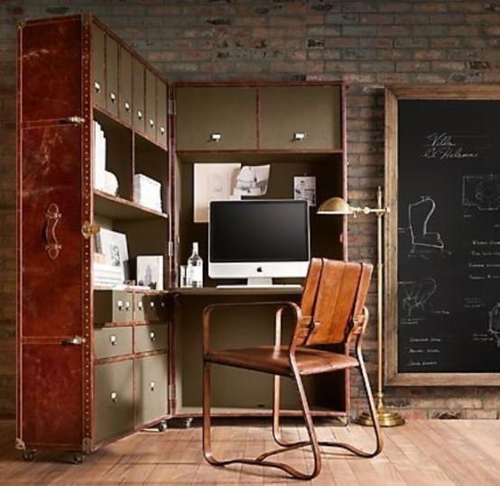 28 Crazy Steampunk Home Office Designs - DigsDi