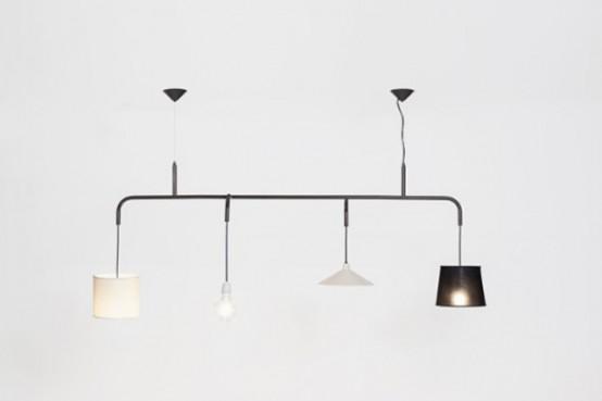 Crazy Vialattea Pendant Lamp Of 4 Different Parts - DigsDi