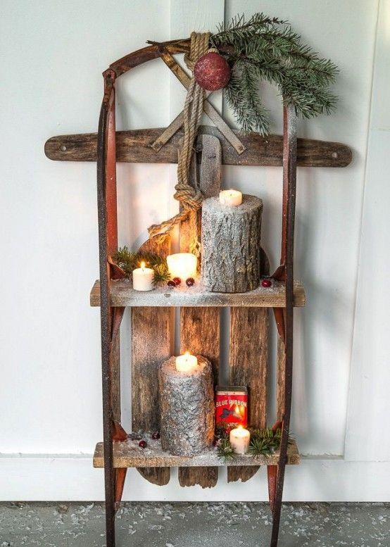 33 Creative And Fun Sleigh Décor Ideas For Christmas | Pallet .