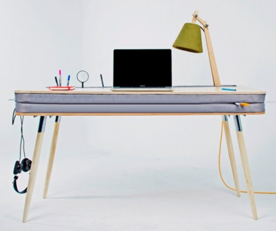 Creative And Funny Oxymoron Desk With A Soft Tabletop - DigsDi