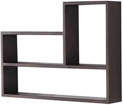 JPZWJZ Shelf, Nordic Solid Wood White Oak Creative Bookshelf .