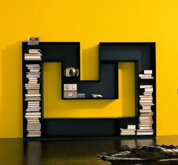 The 25 Most Creative Furniture Designs   Bookcase design, Unique .