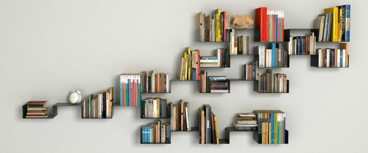 10 Creative Bookshelf Designs   Home Decor Ide
